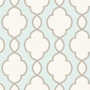 Structure Turquoise Chain Link Wallpaper 2625-21818