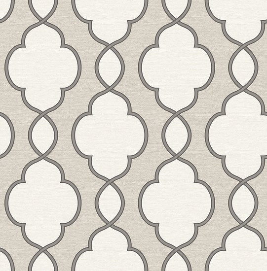 Structure Silver Chain Link Wallpaper 2625-21821