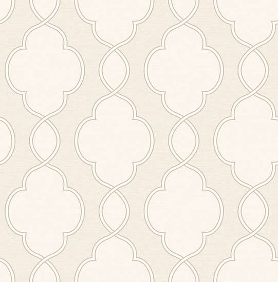 Structure Cream Chain Link Wallpaper 2625-21822