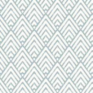 Vertex Blue Diamond Geometric Wallpaper 2625-21826