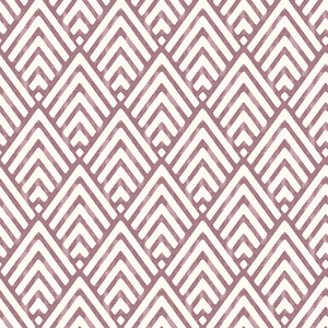 Vertex Burgundy Diamond Geometric Wallpaper 2625-21829
