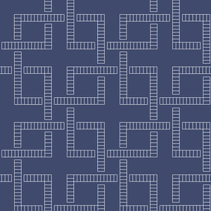 Theory Indigo Geometric Wallpaper 2625-21832