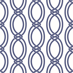 Infinity Indigo Geometric Stripe Wallpaper 2625-21835