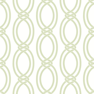 Infinity Light Green Geometric Stripe Wallpaper 2625-21836