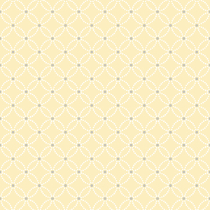 Kinetic Yellow Geometric Floral Wallpaper 2625-21842