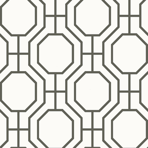 Circuit Black Modern Ironwork Wallpaper 2625-21844