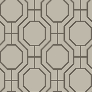 Circuit Taupe Modern Ironwork Wallpaper 2625-21845