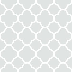 Origin Mint Quatrefoil Wallpaper 2625-21857