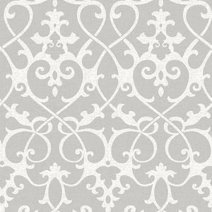 Axiom Grey Ironwork Wallpaper 2625-21866