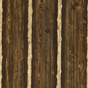 Franklin Dark Brown Rustic Pine Wood 412-41381