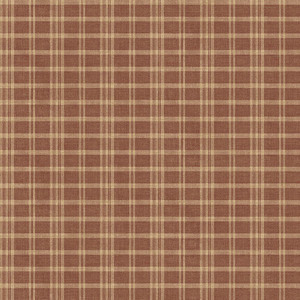 Prairie Dark Red Gingham CCB02142