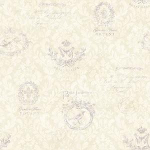Belle Jardin Lilac Block Print CCB02171
