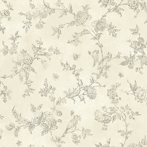 French Nightingale Cream Toile CCB02193