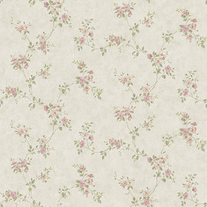 Rose Valley Pink FloralScroll CCB64195