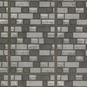 Grey Iridescent Bricks WW744