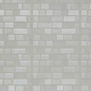 White Iridescent Bricks WW741