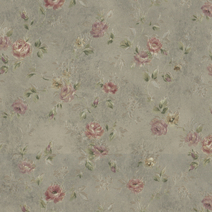 Alex Olive Delicate Satin Floral Trail Wallpaper 992-43542