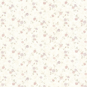 Alex Pastel Delicate Satin Floral Trail Wallpaper 992-68347