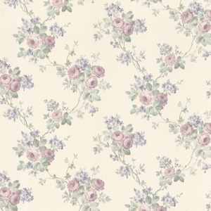 Kristin Lavender Rose Trail Wallpaper 992-68360