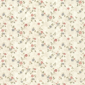 Alex Beige Delicate Satin Floral Trail Wallpaper 992-44418