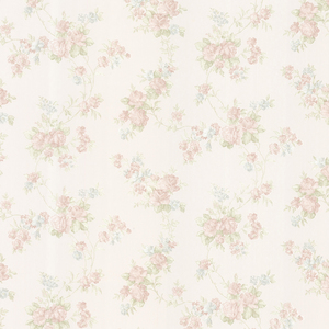 Tiffany Pastel Satin Floral Trail Wallpaper 992-68325