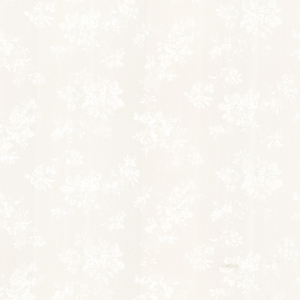 Tori White Satin Floral Wallpaper 992-68330