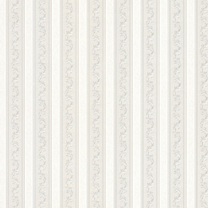 Kendra Platinum Scrolling Stripe Wallpaper 992-68366