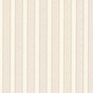 Kendra Neutral Scrolling Stripe Wallpaper 992-68368