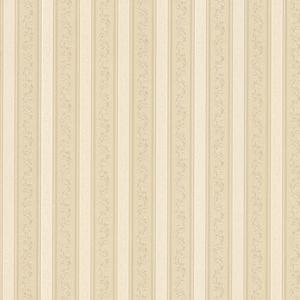 Kendra Beige Scrolling Stripe Wallpaper 992-68371
