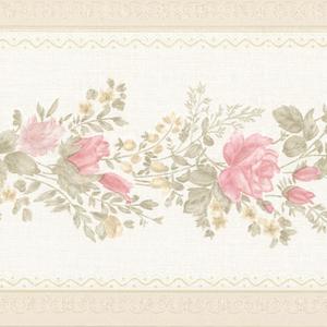 Alexa Pink Floral Meadow Border 992B07574