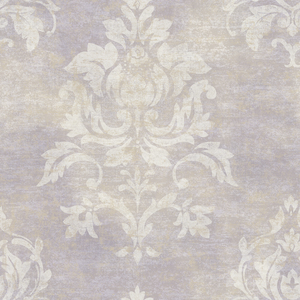 Asha Sand Lotus Damask Wallpaper VIR98202