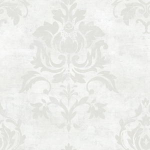 Asha Pearl Lotus Damask Wallpaper VIR98203