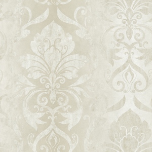 Lulu Snow Smiling Damask Wallpaper VIR98212
