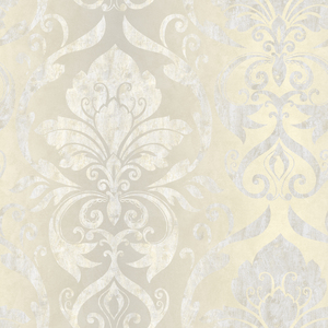 Lulu Ale Smiling Damask Wallpaper VIR98214