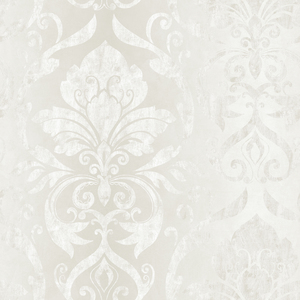 Lulu Ice Smiling Damask Wallpaper VIR98215
