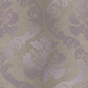 Delilah Purple Tulip Damask Wallpaper VIR98227