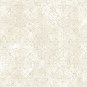 Aubrey Milk Crystal Medallion Texture Wallpaper VIR98235