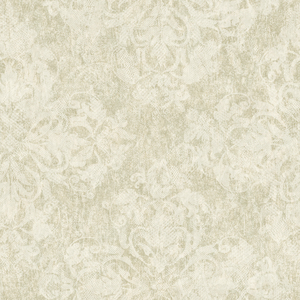 Leia Olive Lace Damask Wallpaper VIR98243