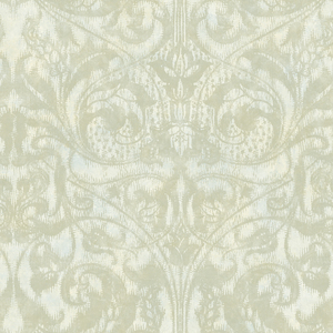 Amity Champagne Bleeding Heart Scroll Wallpaper VIR98251