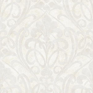 Zoe Ice Coco Damask Wallpaper VIR98262