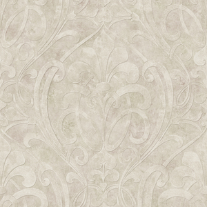 Zoe Quartz Coco Damask Wallpaper VIR98266