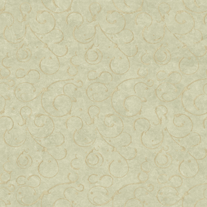 Shin Moss Golden Scroll Texture Wallpaper VIR98271