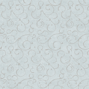 Shin Blue Golden Scroll Texture Wallpaper VIR98274