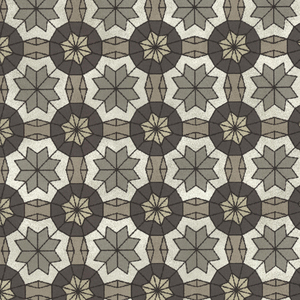 Marqueterie Pewter Mosaic Geometric 341773