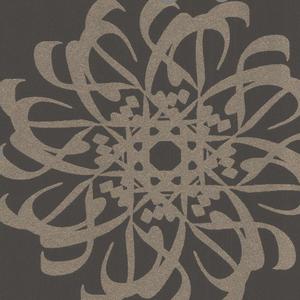 Hazar Afsan Espresso Modern Medallion 341782