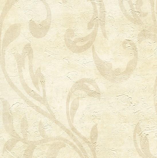 Plume Sand Modern Scroll Wallpaper WD3020