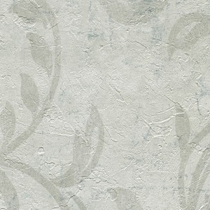 Plume Off White Modern Scroll Wallpaper WD3081