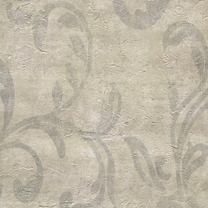 Plume Wheat Modern Scroll Wallpaper WD3091
