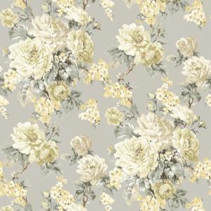 Laycie Grey Ikat Floral CW20100