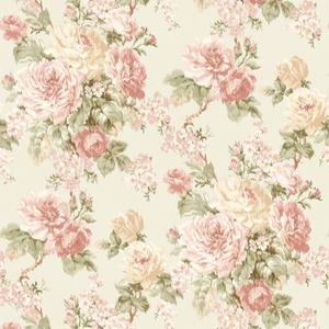 Laycie Blush Ikat Floral CW20101